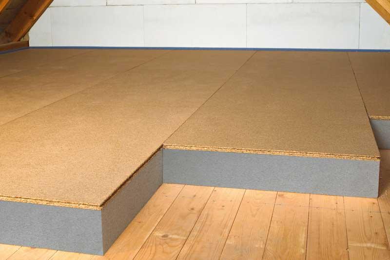 Dämmsysteme Dachboden und Kellerdecke